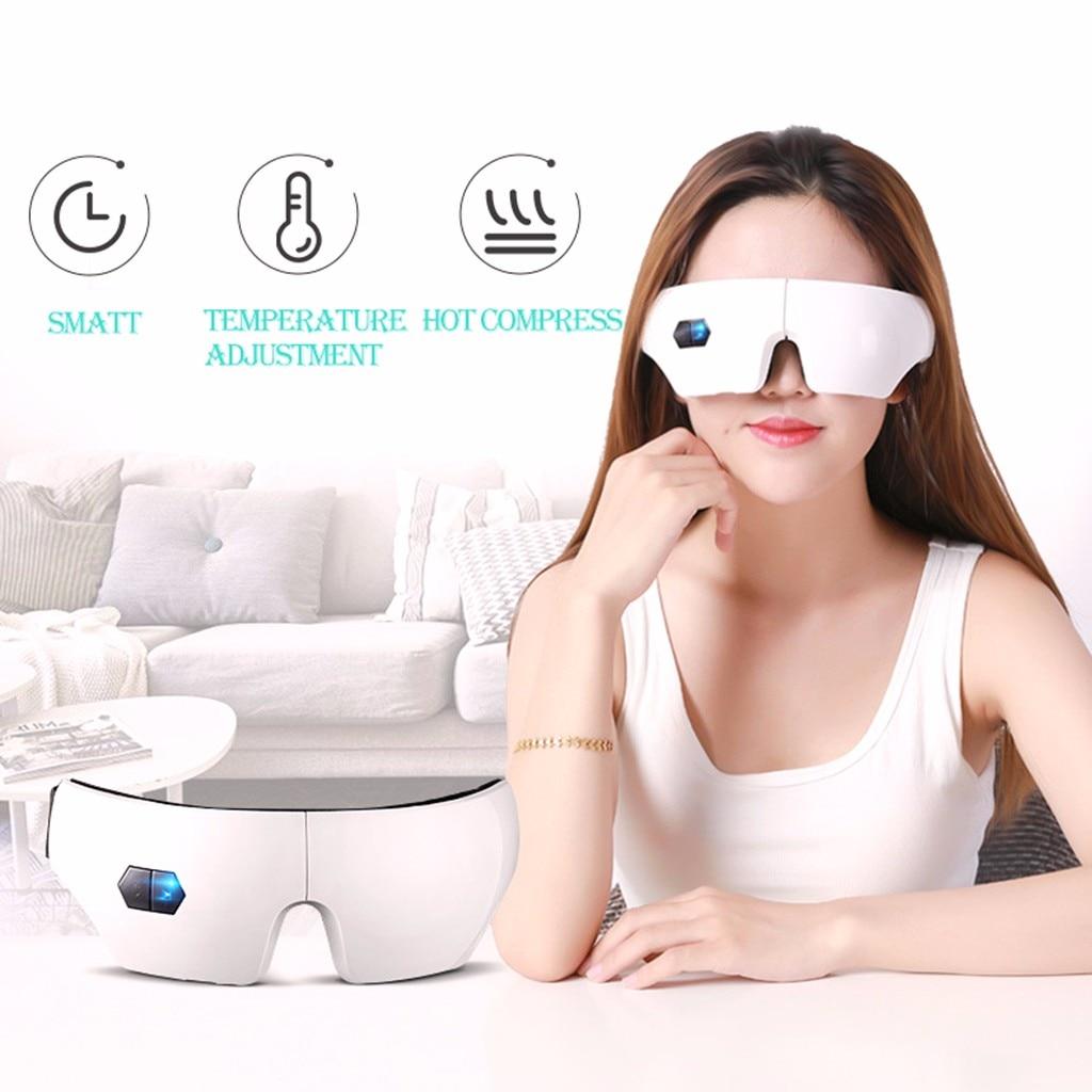 Inteligente inteligente pressão de ar máscara olho dobrável carregamento vapor calor três tempo controle temperatura 19apr22
