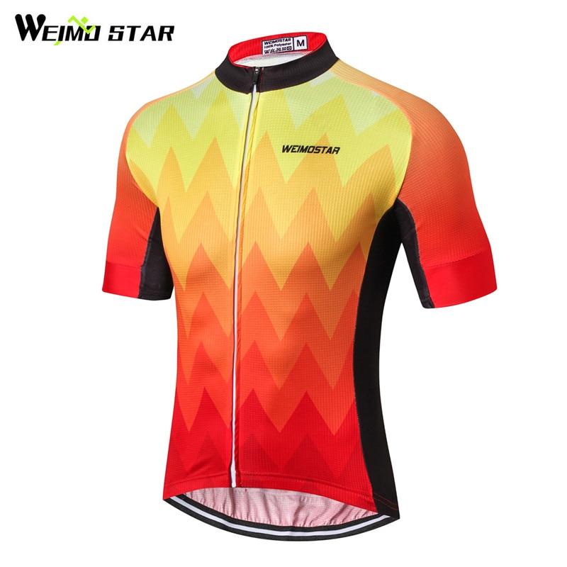 Weimostar 2019, Jersey De Ciclismo para hombre, camiseta De Ciclismo transpirable, Ropa...