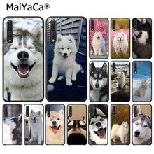 MaiYaCa, funda de teléfono suave perro Husky para Huawei P20Lite P10 Plus Mate10Lite Mate20 P20 Pro Honor10 View10