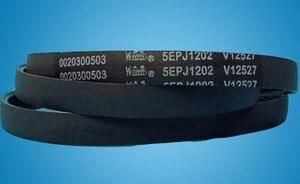 Various drum washing machine belt/5PJ1202/5EPJ1202/1202 J5/5J1202 for Panasonic for Haier for Samsung etc.