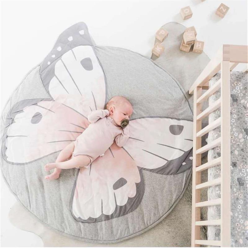 Alfombra de escalada, alfombrillas de juego para bebés, suave para recién nacidos, alfombrilla para dormir de algodón, conejo, León, Koala, jirafa, esteras para juegos, alfombras para habitación de niños