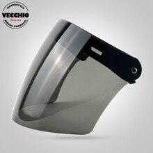 Three snaps visor glass TORC BEON Vintage helmet windshield helmet shield pilot helmet visor jet scooter helmet glasses
