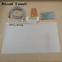 27 inch usb transparent interactive 6 point touch foil film with high sensitivity