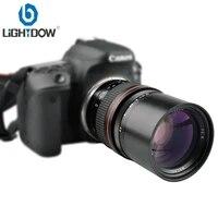 Lighdow 135mm F2 8 Telephoto Prime Lens for Canon 6D 6DII 7DII 77D 760D 800D 70D 80D 5DIV 5DIII Nikon D3400 D5300 D760D Cameras