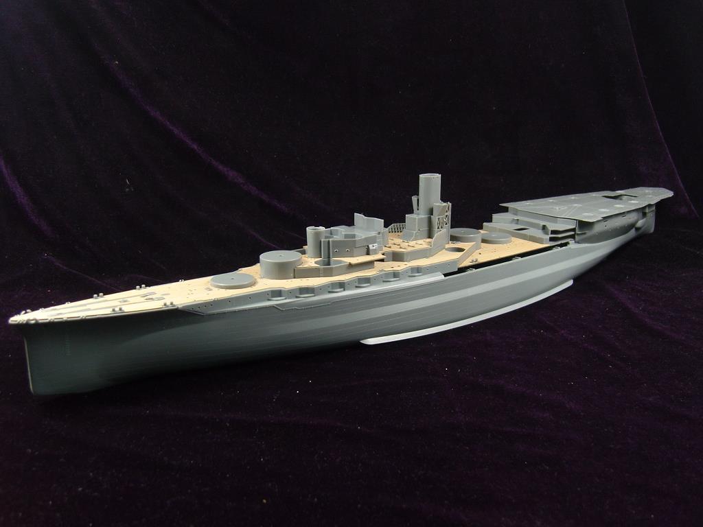 ARTWOX/FUJIMI 60002, barco aéreo japonés, plataforma de madera AW10052