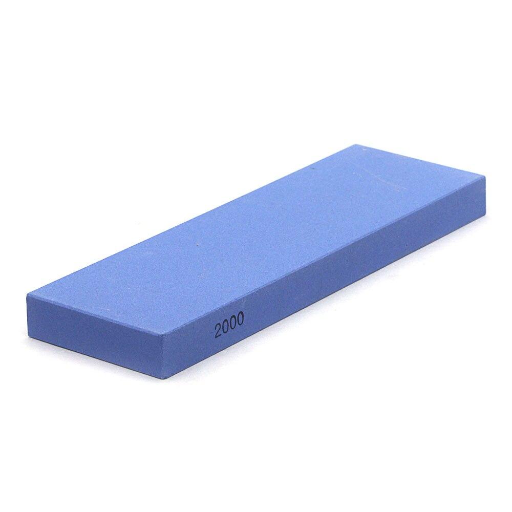 Afilador de piedras del hogar de óxido de aluminio gridstone grit 2000 para tallar cuchillos herramienta de cocina, cincel de carpintero YS039