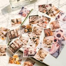 60 pcs/paquet papeterie autocollants souvenir temps vie voyage flocon journal planificateur décoratif Mobile Scrapbooking bricolage artisanat
