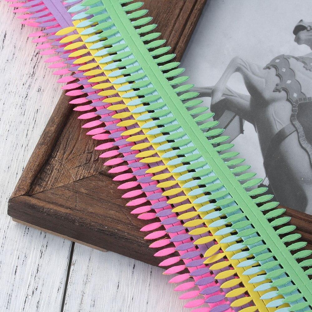 DoreenBeads бумажная многоцветная лента для скрапбукинга, оригами, 50x3 см, 1 упаковка (Approx5 листов