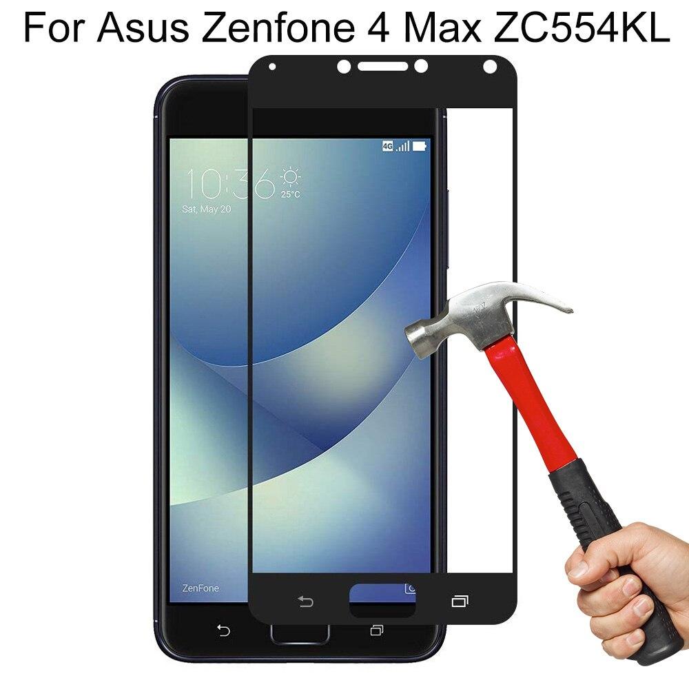 9H Dureza Vidro De Proteção Film Para Asus Zenfone 4 Max ZC554KL Protetor de Tela de Vidro Temperado Para Asus Zenfone 4 Max ZC554KL