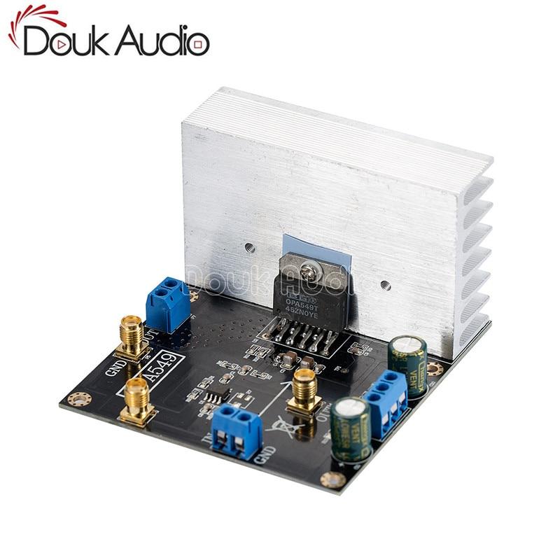 OPA549 وحدة مكبر كهربائي الصوت مجلس 100 واط عالية الجهد 8A عالية الحالية