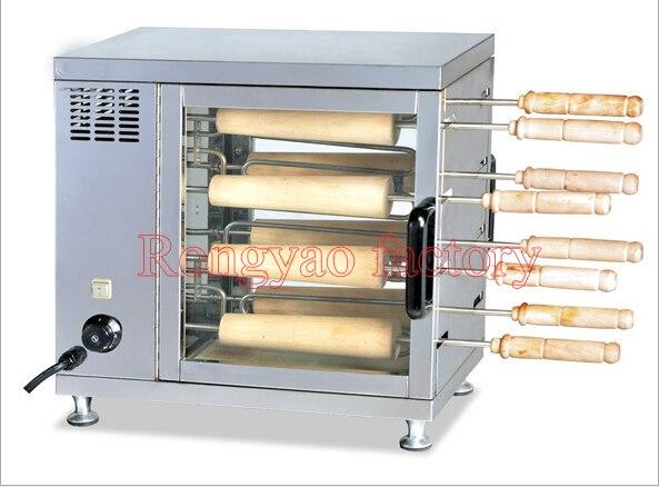EB-550 horno eléctrico comercial giratorio para hornear pan, horno rotatorio para hornear pan