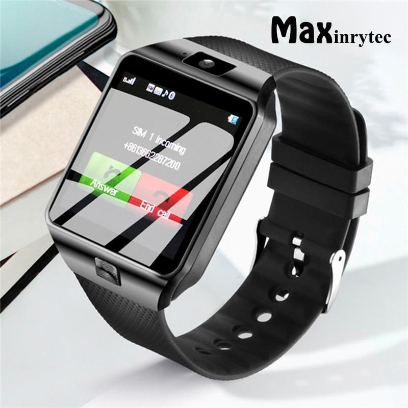 Reloj inteligente DZ09 para teléfono Android, reloj inteligente con llamadas, mensajes, SIM, tarjeta TF y Bluetooth para hombre y mujer