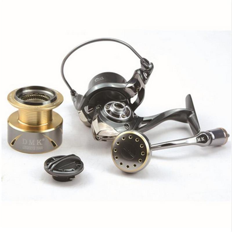 DMK 800-5000 Size Spinning Fishing Reel 5.2:1/9+1BB Moulinet Peche Carretel De Pesca Fishing Reels Feeder Carp Reel enlarge