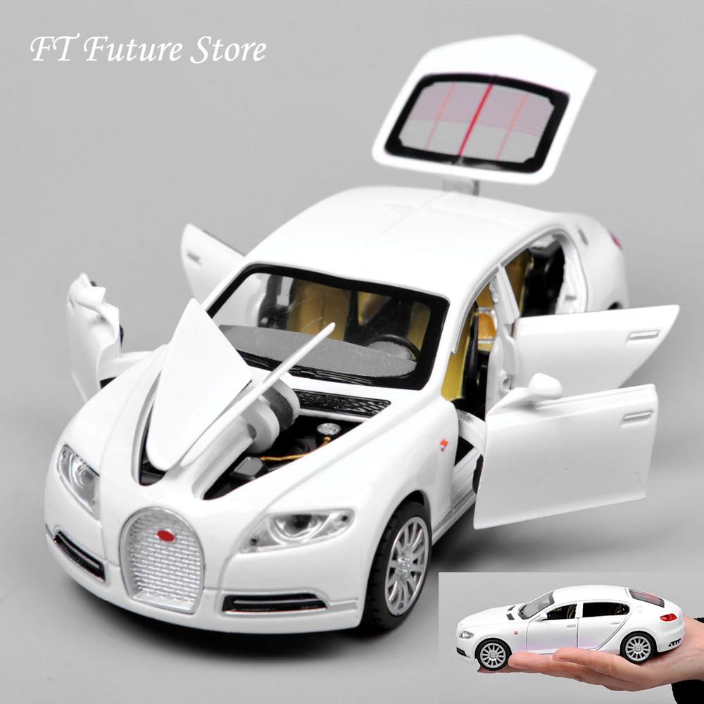 Дешевые 1:32 Bugatti Galibier Veyron Автомобильные модели из сплава литые под давлением модели Brinquedos коллекция потяните назад детские игрушки подарки дисплеи