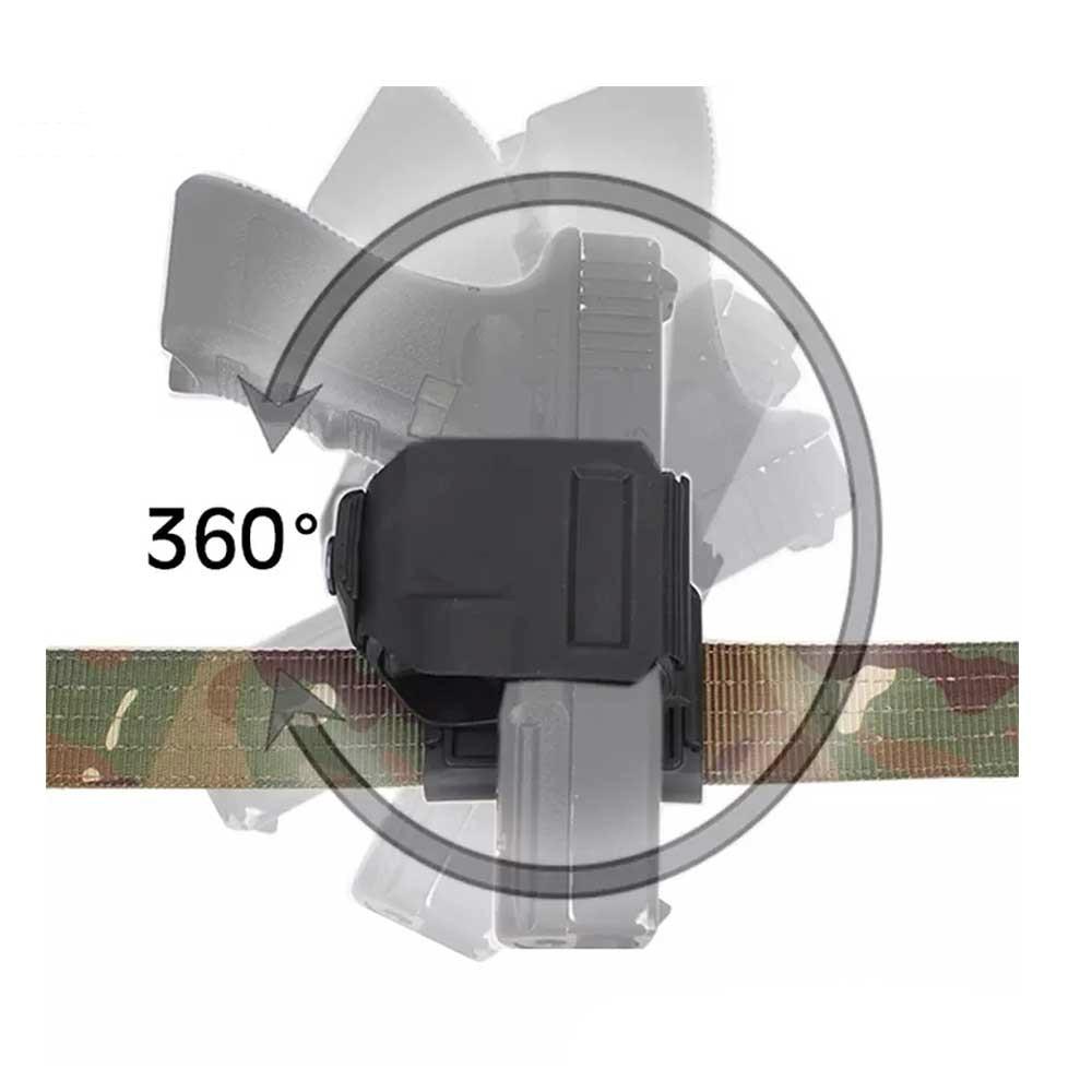 Pistola estilo CP G17 funda para Glock 19 23 táctico Airsoft Paintball ar15 accesorios caza tiro Roto pistola diestros Clip