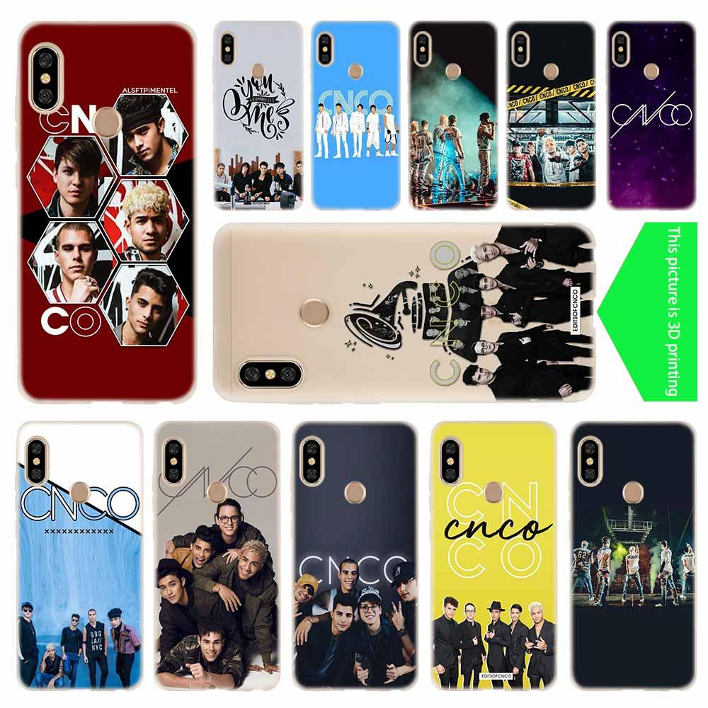 cover soft Silicone TPU Phone Case For Xiaomi Redmi 4X 4a 5Plus 5a S2 6a 7a 8a Note 8 7 5 6 4 5a Pro CNCO Christopher Velez