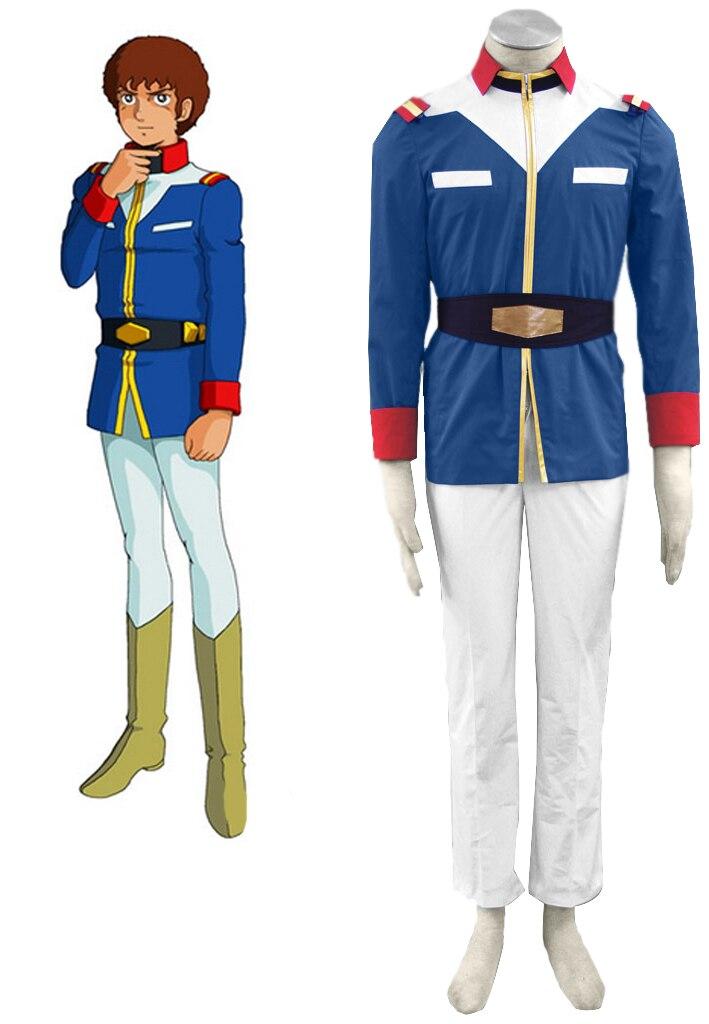 Элементы могут быть адаптированы Аниме Косплей GUNDAM мужские и женские Хэллоуин Cos воина гундама 0079 карнавальный костюм, одежда для мальчиков...
