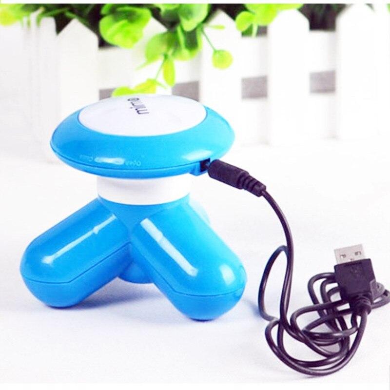 Bola de masaje Usb triangular gadgets hombre mujer mini pierna eléctrica cuello y vibración multifuncional máquina de relajación
