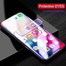Oppo f1s f5 a59 a73 a75 a79 a77 a1 하이드로 겔 필름 안티 블루 라이트 레이 소프트 tpu 나노 필름 스크린 가드 보호용 눈