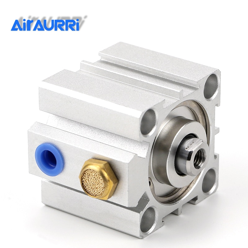 Фото - Compact cylinder single acting-push SSA series  bore 16 20 25 32 40 50 63 80 stroke 5mm 10mm 15mm 20mm 30mm 40mm 50mm air cylinder sda series male thread pneumatic compact airtac type 16 20 25 32 40 50 63mm bore to 5 10 15 20 25 30 35 40 45 50mm