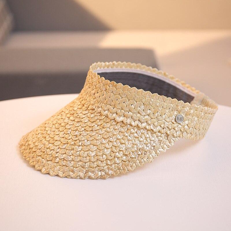 01906-shi handmade abacaxi padrão palha sem boné de beisebol masculino feminino chapéu de rua