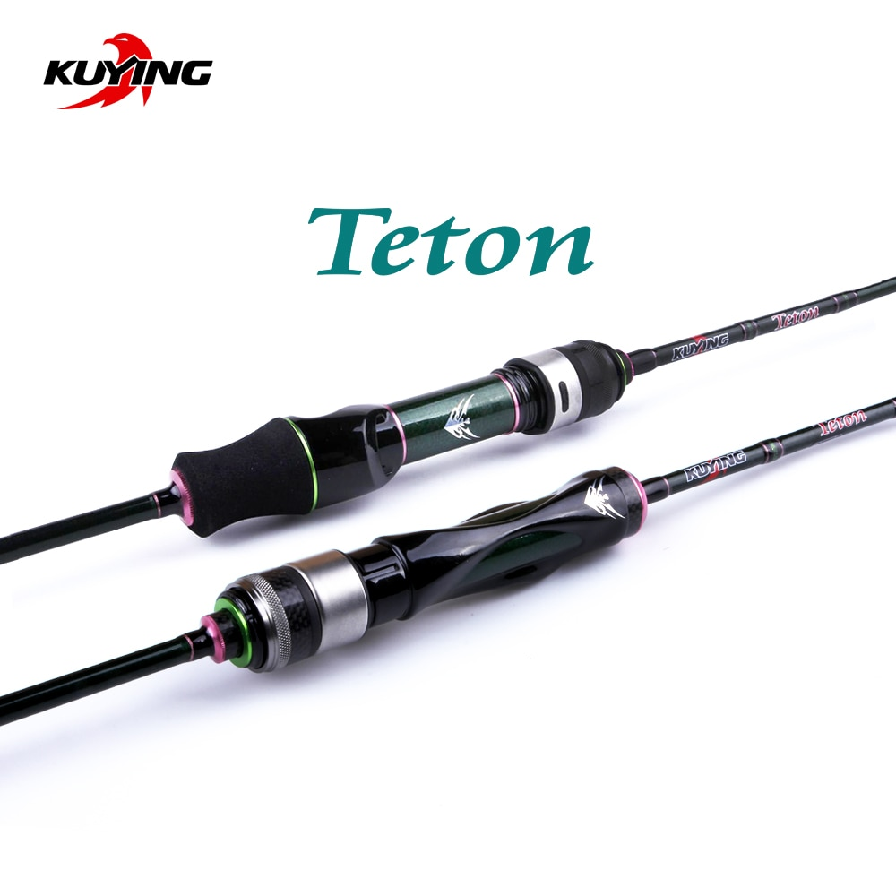 kuying o sprey 2 9m 3m shore jigging rods spinning lure fishing rod pole hard 2 sections carbon fiber fuji parts fast action KUYING Teton 1.75m 5'10 1.8m 6'0 Carbon Spinning Casting Stream Fast Speed Action Soft Lure Fishing Rod Pole Stick Cane