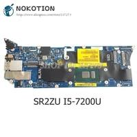 nokotion for dell xps 13 9360 laptop motherboard sr2zu i5 7200u cpu 8gb memory cn 0t9vpc 0t9vpc t9vpc caz00 la d841p