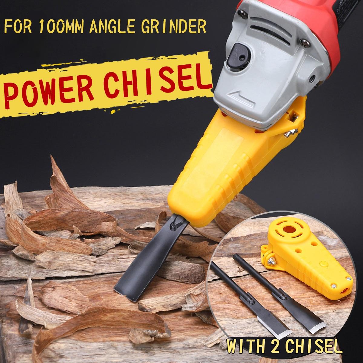 Drillpro escultura em madeira cinzel elétrico m10 adaptador conjunto mudou 100 ângulo moedor em energia cinzel carpintaria ferramenta