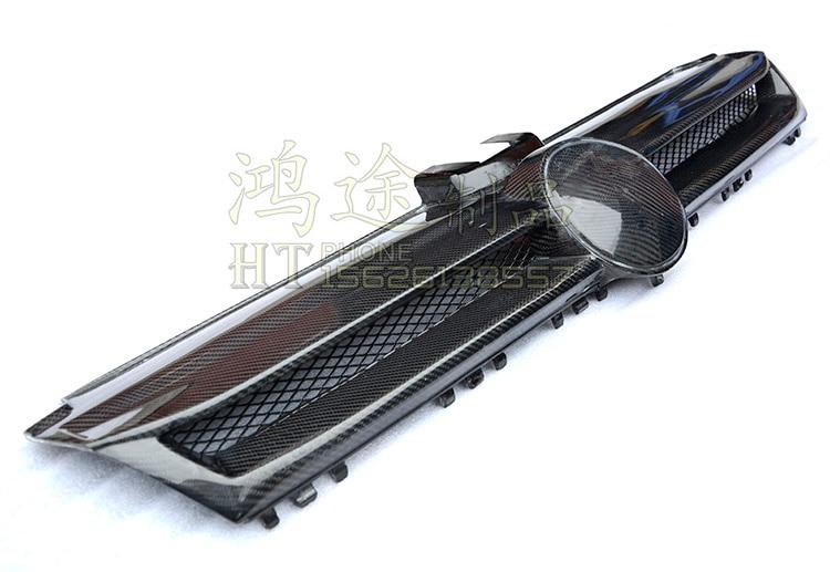 Vordere carbon fiber Car Grill Auto grille für Volkswagen Golf 7