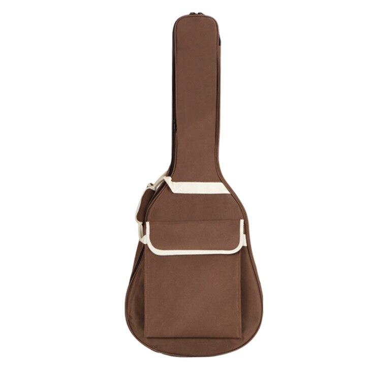 Funda para guitarra eléctrica de tela Oxford de 36/38/40/41 pulgadas, Gig Edge Colorida funda, doble almohadilla de correas