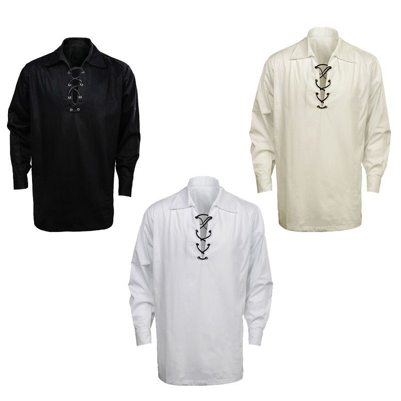 Takerlama قميص جاكوبيت اسكتلندي للرجال قميص غير رسمي قميص كاجول فاخر جميع آمنة جاكوبيت قميص رائع 3 ألوان