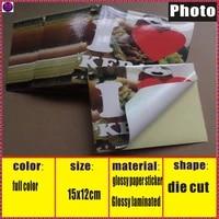 custom adhensive label sticker printing