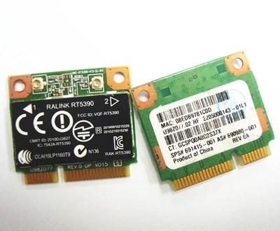 SSEA tarjeta inalámbrica Original para Ralink RT5390 300Mbps 802.11b/g/n media Mini tarjeta PCI-E para HP CQ56 G4 G5 G7 4330S SPS #691415-001