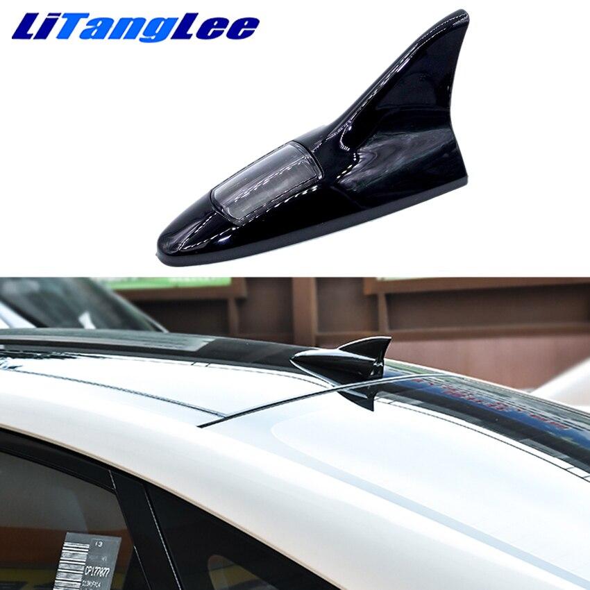 Litanglee автомобильный Стайлинг для Citroen C4 Picasso Aircross C-Elysee Led Light Car Shark Fin Antena беспроводной пульт дистанционного управления антенны