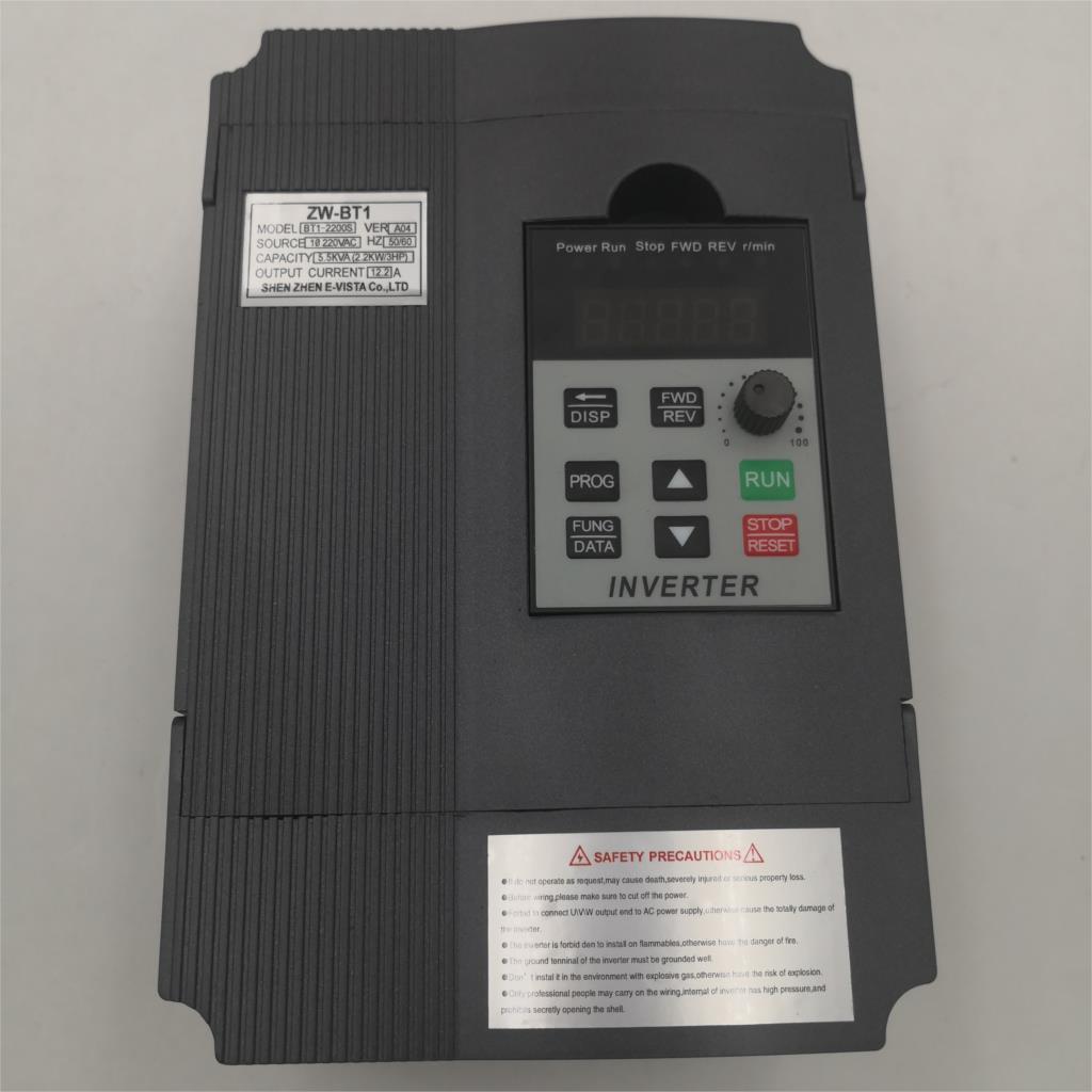 VFD 2.2KW 1.5KW/2.2KW/4KW محول تردد ZW-AT1 BT1 3P 220 فولت/110 فولت الناتج نك المغزل المحرك سرعة التحكم VFD محول 2
