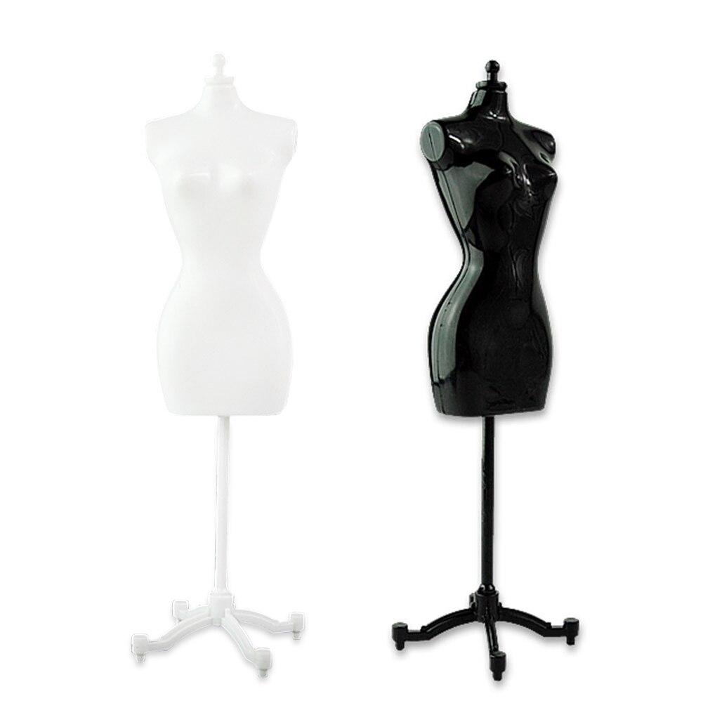 Женский манекен (2 черных + 2 белых) для кукол Барби/монстра/bjd, 4 шт.