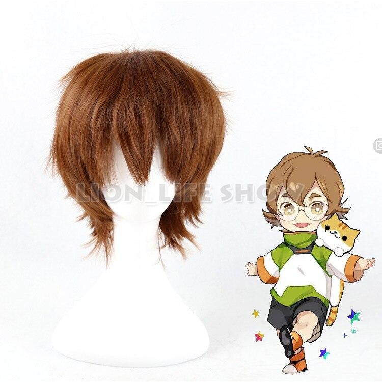 Легендарный Защитник волтрон пидж светло-коричневый короткий карнавальный парик волос США в наличии