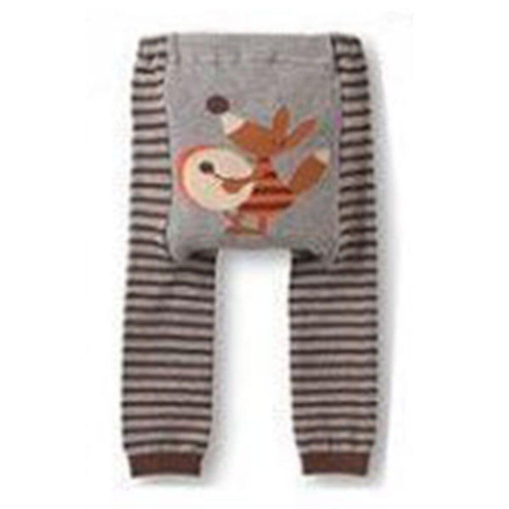 Outono bebê criança infantil recém-nascido bonito dos desenhos animados listrado criança menino menina leggings longo pp calças
