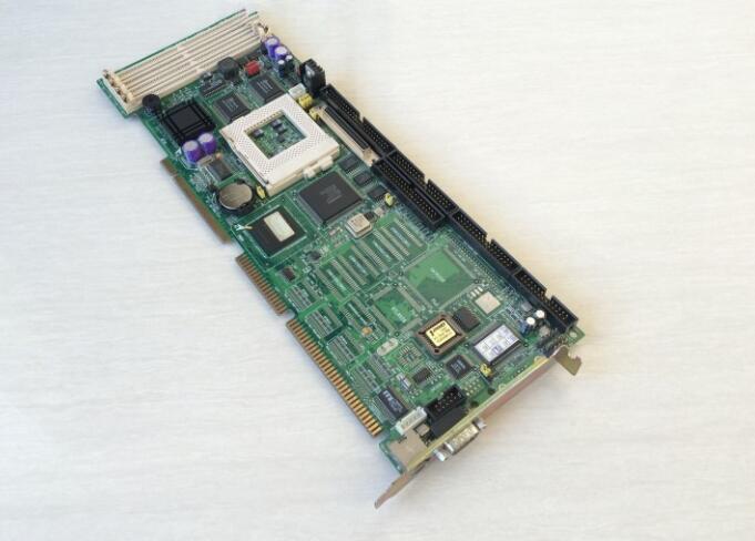 100% bien IPC Junta PCA-6159 tamaño tarjeta CPU ISA Industrial integrado placa base PICMG1.0 No-VGA con CPU RAM