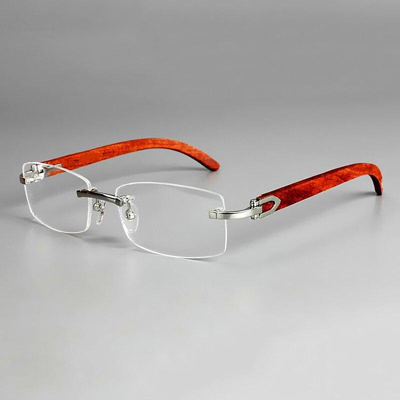 نظارات عمل بدون إطار للنساء والرجال ، نظارات بقصر النظر ، 5 ألوان ، ذات علامة تجارية