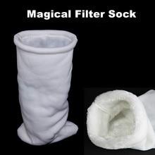 Sac filtre daquarium magique 35x20cm   En coton, sac en coton, sac de filtre de séparation pour Aquarium sec et humide, accessoires daquarium