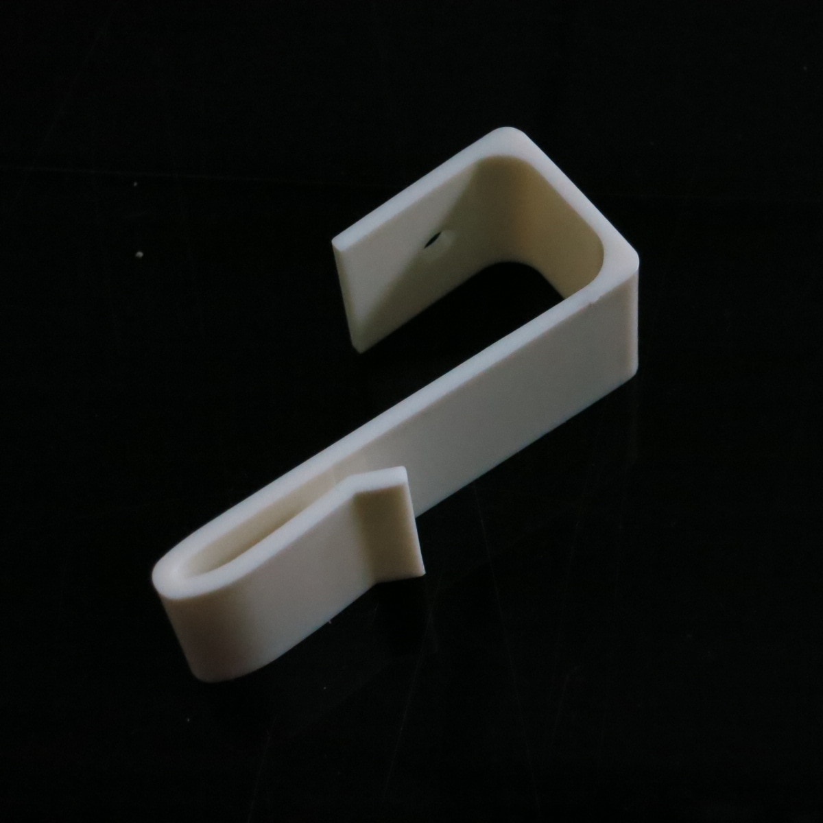 Ganchos de cartón de plástico Abs soporte publicitario conectores de sistemas tablero de papel estante MONTAJE DE Carboard sujetador abrazadera S gancho