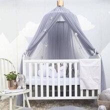 Kinderzimmer Dekoration Vorhang infantil Playtent Prinzessin Hing Kuppel Moskito Net Baby Bettwäsche Set Baby Krippe Netting Zelt