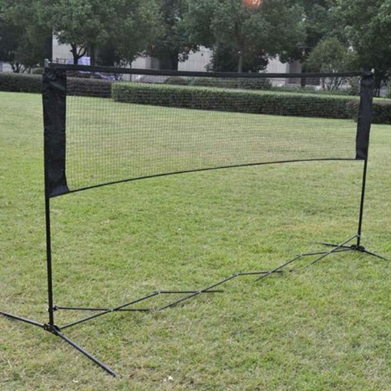 Высококачественная профессиональная тренировочная квадратная сетка, стандартная сетка для бадминтона, спортивная сетка для уличного бадминтона, теннисная сетка, замена