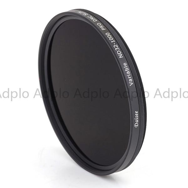 Daisee 95 MM VARIABLE ND 32-1000 pro DMC filtro Delgado/filtro de lente de cámara/26 + 8 capas DMC anillo de latón de recubrimiento