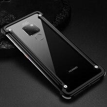 Étui de Protection en aluminium dorigine en métal pour Huawei Mate 20/ Pro/ 20 RS