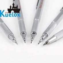 Kuelox crayon à dessin mécanique, outil de dessin en métal, 0.3/0.5/0.7mm, 1 pièce