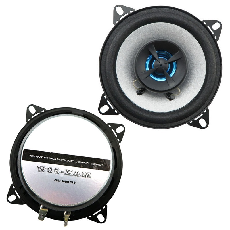 1pair 4 inch 2 way 2x60W Perfect Processor Surrounding Music Coaxial Car speaker audio speaker