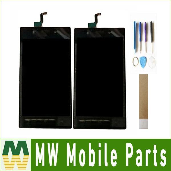 Pantalla LCD para Philips Xenium V787, pantalla táctil, Sensor de cristal, montaje en negro, blanco, dorado, con herramientas y cinta