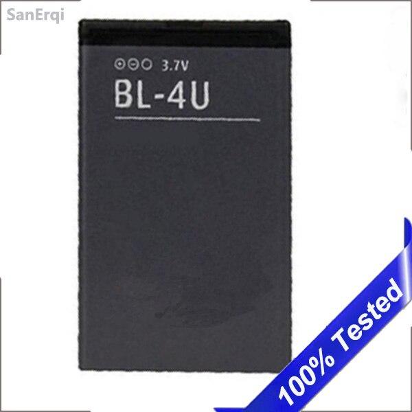 BL-4U батарея для Nokia 8800 206 515 5250 5330 BL 4U XpressMusic Arte E75 5730 C5-03 E66 Asha 300 500